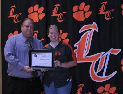 <b>Lynn Camp athletes honored </b><b>at Knox County BOE meeting</b>