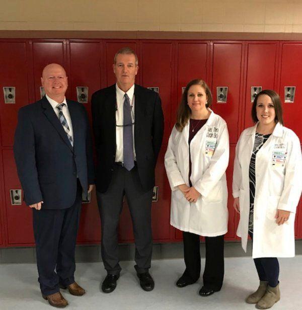 44 Corbin High School students receive white coats