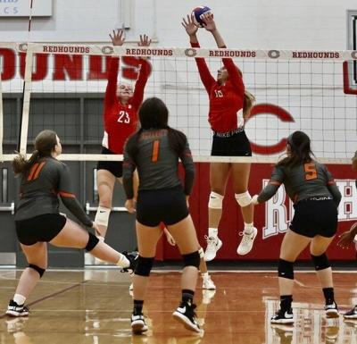 Lady Redhounds improve to 9-0 after defeating Knox Central