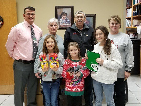 Whitley Area Retired Teachers Association conducts annual school supply drive