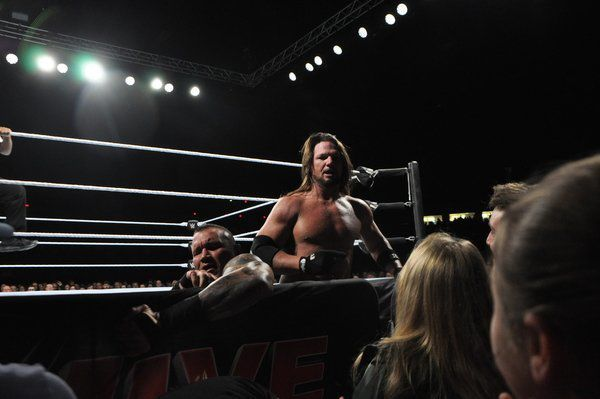 City changes name to 'King Corbin' for a day as WWE hits Arena