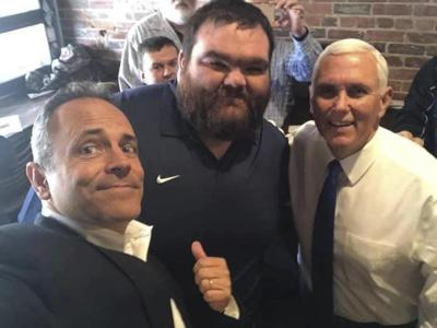 Corbin man enjoys once in a lifetime experience getting to meet Vice President