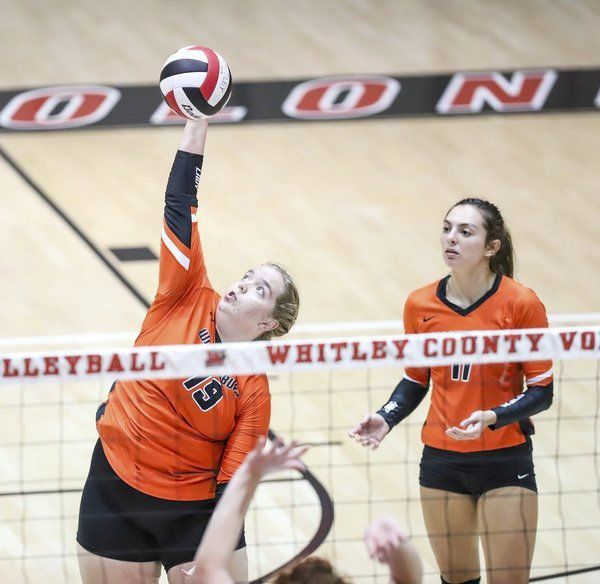 Lady Colonels sweep Williamsburg in three sets