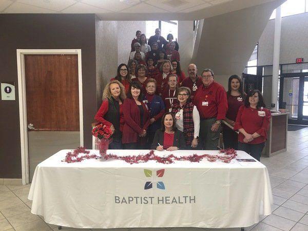 City recognizes Wear Red Day this past Friday