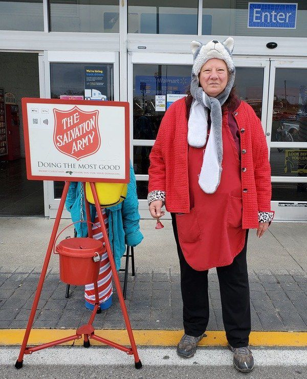 Local residents give back as Salvation Army bell ringers