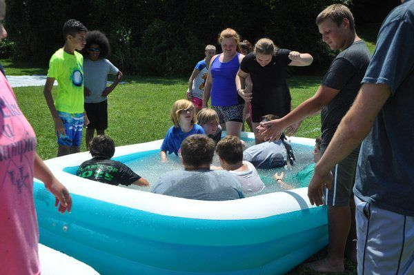 <span>SLIME TIME: Outrageous 'Messy' Field Games take over Camp UNITE</span>
