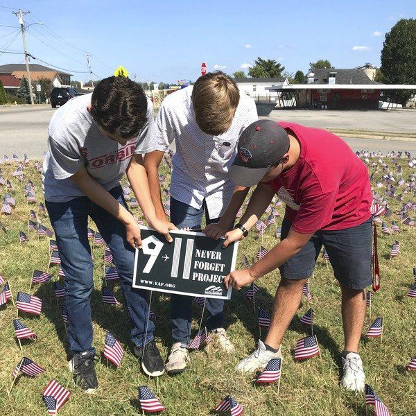 CHS student group creates 9/11 tribute