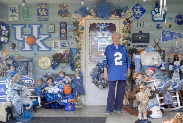 Getting to Know...Bonnie Hicks'UKhouse decorations accumulating for 46 years