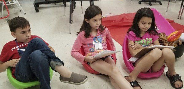 Lay hosts Camp Read a Lot, provides books to keep the reading adventures continuing at home