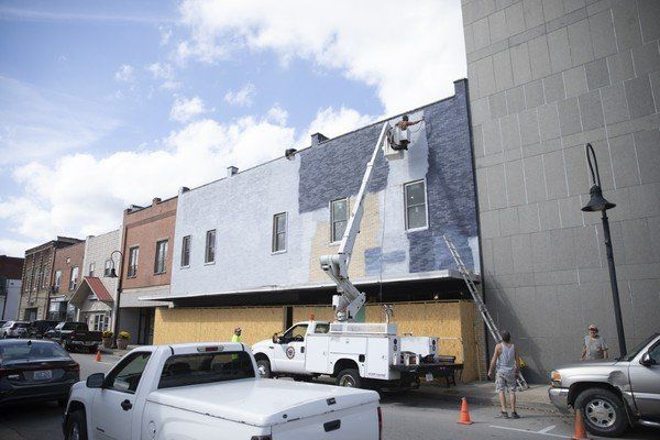 Marketplace with new businesses opening early 2020 in downtown Williamsburg