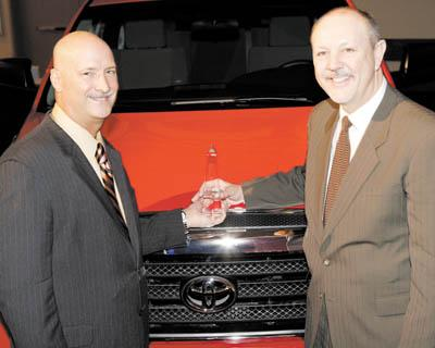 0330 Gambrel Toyota Award