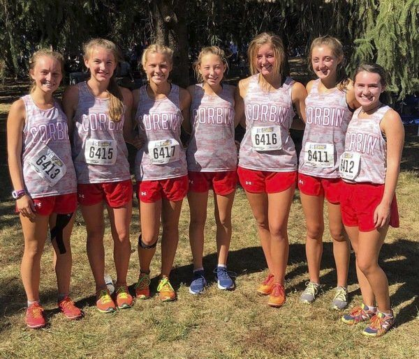RUNNING STRONG:<span>Corbin's boys and girls cross country teams shine during Greater Louisville Classic</span>