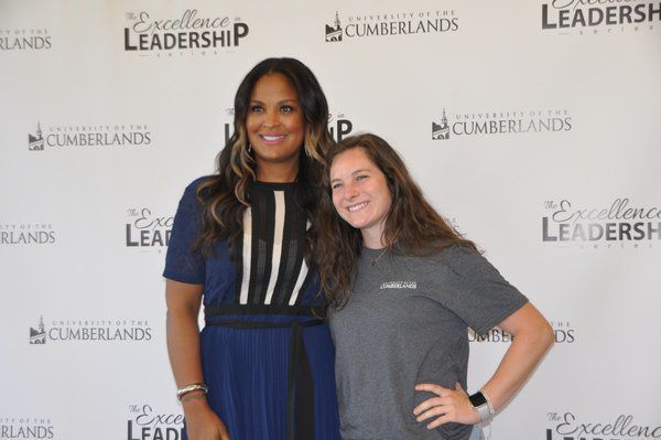 Laila Ali speaks about service, leadership at Univ. of the Cumberlands