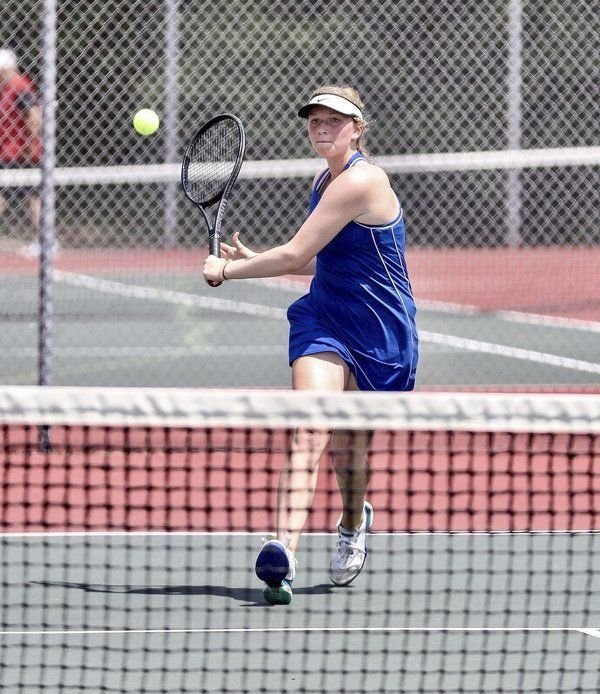 SCRATCHING THE SURFACE:<span>Lady Jaguar tennis team has a bright future</span>