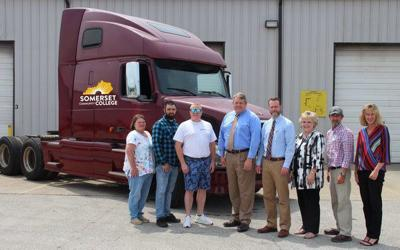 SCC receives donation from CoreTrans for new truck driver program