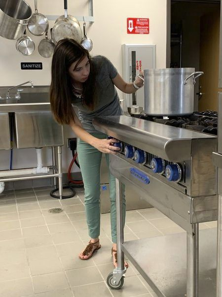 Commercial kitchen open to community members