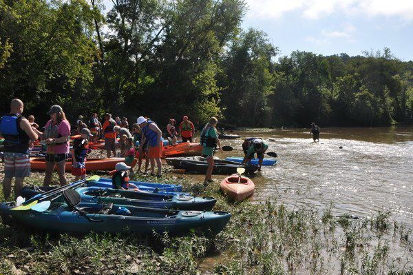 <span>Kayak for Kids money presented to local schools, churches</span>