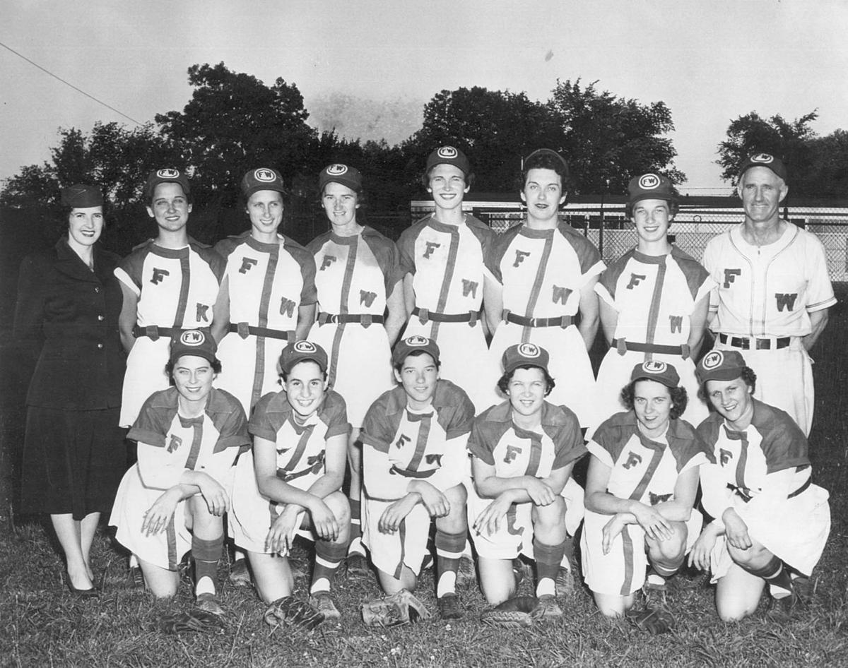 all american girls baseball league - HD1200×946