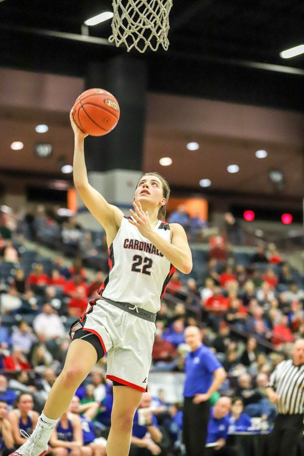 <b>Seniors lead the way for Lady </b><b>Cards in 75-47 win</b>