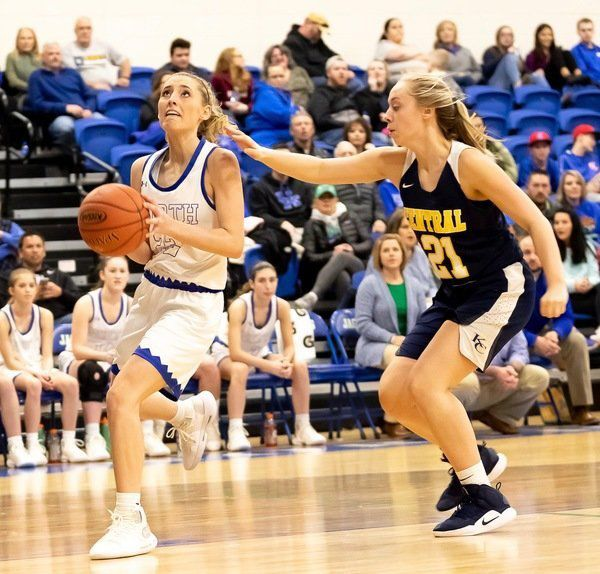Gracie Jervis scores 31 points during North Laurel's 80-45 rout of Knox Central