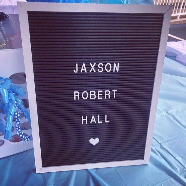 HALL THINGS CONSIDERED: We are welcoming Baby Jaxson to the world this week!