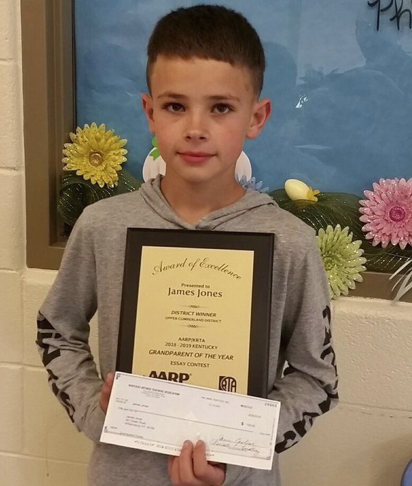 Whitley East Elementary School student receives state recognition