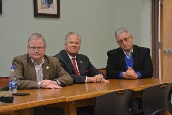 State senator majority leaders visit Whitley County