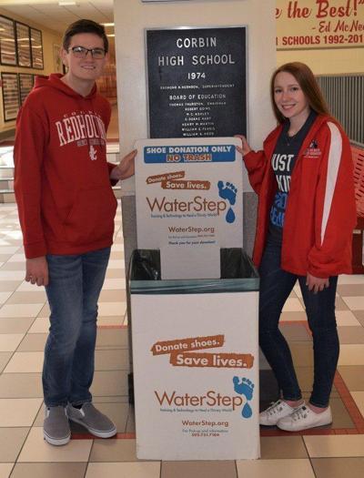 Used shoe drive benefits WaterStep program