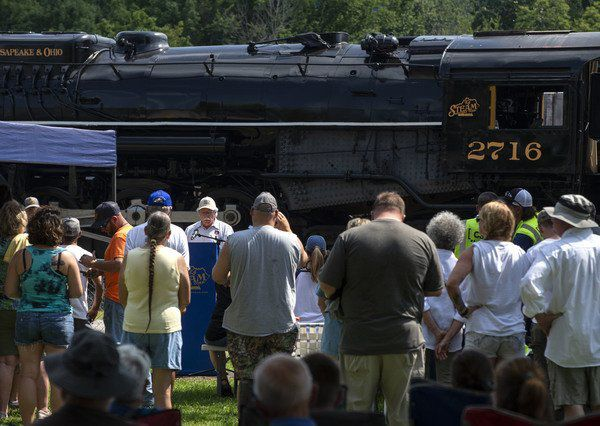 HEART OF THE BLUEGRASS: Historic locomotive ready for new life