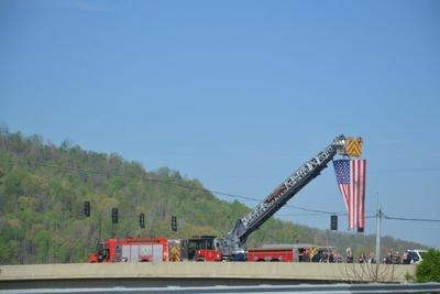 Locals pay tribute to veteran on 'final mile' funeral procession
