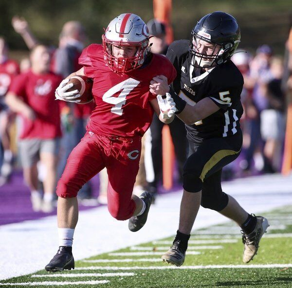 TWO WINS AWAY:<span>Redhound eighth-grade squad captures regional title with win over Clay County</span>