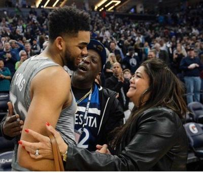 Karl Anthony Towns Mother Dies From Complications Of Covid 19 Local Sports Thetimestribune Com