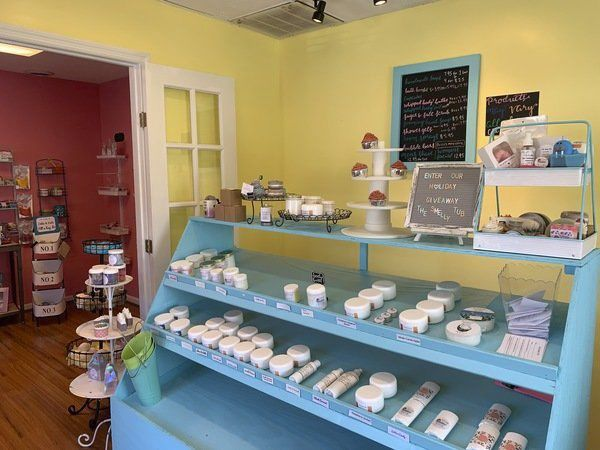 The Smelly Tub in Corbin offers homemade bath and body products