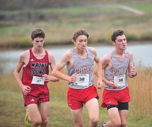 READY TO DEFEND: <span>Defending state champion Corbin Redhound boys XC team ready for season to begin</span>