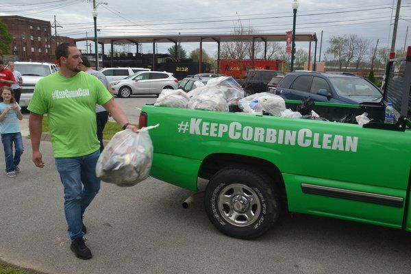 Over 65 people help pick up litterduring #keepcorbinclean event Saturday