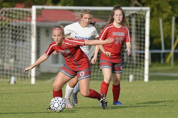 BRIGHT FUTURE AHEAD:<span>Lady Redhound soccer team looking to build on this past season's success</span>