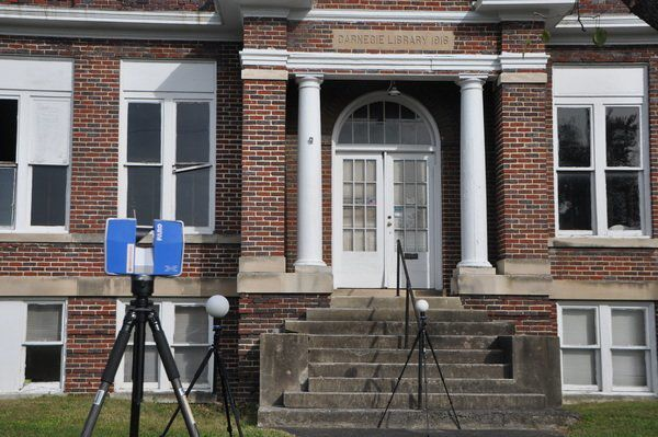 Images taken to perform Carnegie Center feasibility study