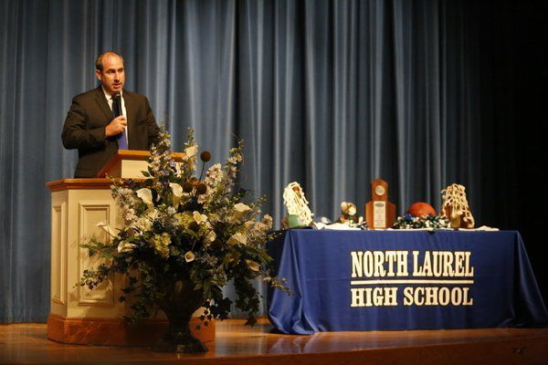 Players, fans get chance to meet new North Laurel coach