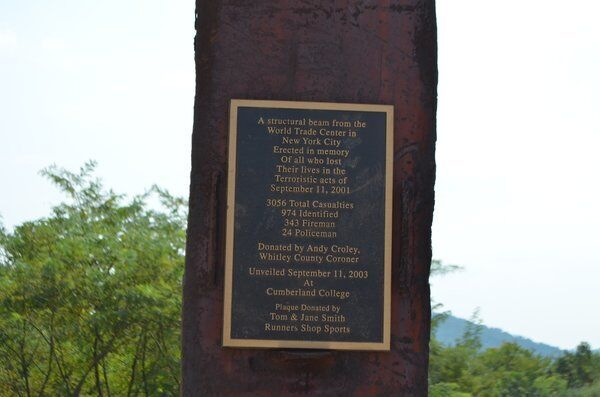 AT GROUND ZERO: Whitley County Coroner Andy Croley spent a month working at Ground Zero