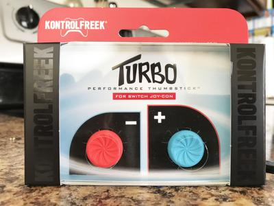 KontrolFreek Turbo Performance Thumbsticks for the Joy-Cons