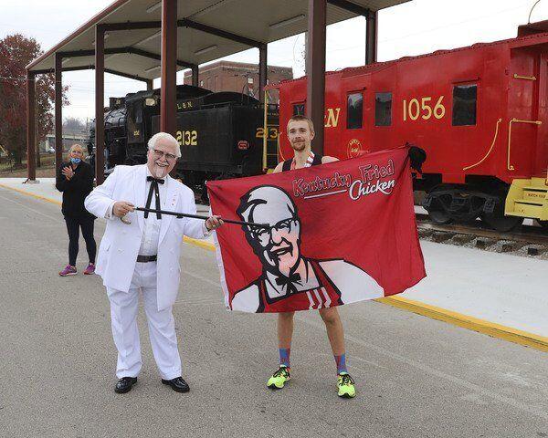 199 runners finish inaugural<span>Colonel Sanders Half Marathon</span>