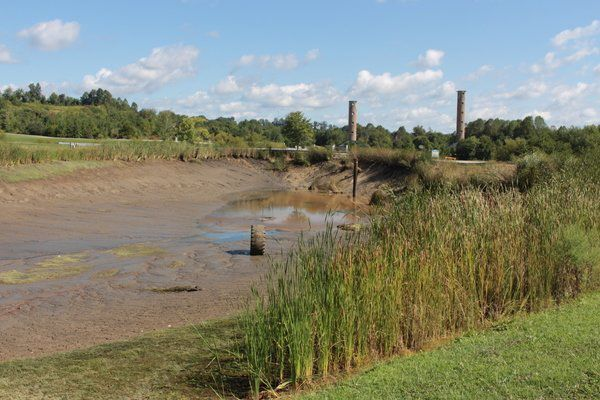 Decayed pipe results in large pond drainage at SCC - Laurel