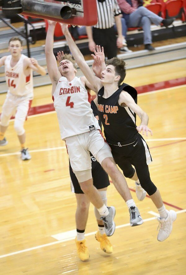 HOUNDS ARE CLICKIN':<span>Corbin wins fifth straight after 80-51 victory over Lynn Camp</span>
