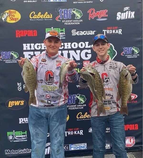 Corbin's Tanner Davis and Austin Ooten qualify for Nationals at Lake Hartwell