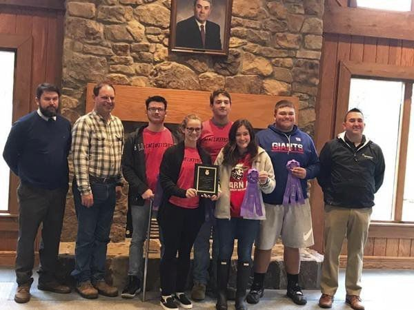 Whitley County Land-Judging Team wins state