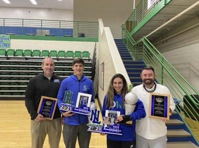 NORTH PICKS UP CLEAN SWEEP:<span>Reed Sheppard, Hailee Valentine named 13th Region Media Boys, Girls Players of the Year</span>
