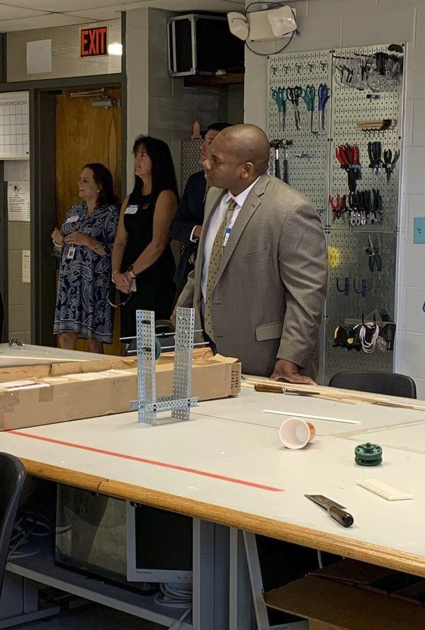 State education commissioner visits Corbin Area Technology Center