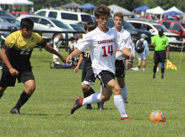READY FOR ANOTHER RUN:<span>Joey Marcum's South Laurel Cardinal soccer team looking to make another deep postseason run</span>
