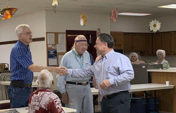 Knox judge/executive presents check to Corbin Senior Citizens Center