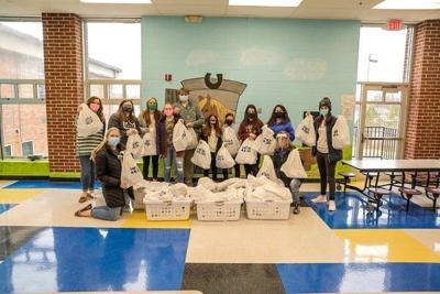 Cumberlands ministry donates new clothing, hygiene items to local schools